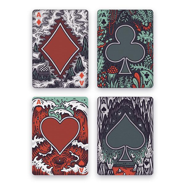Buy 'Into The Weird' Playing Cards and other gifts online - The Fowndry