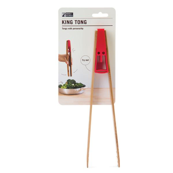 Red King Tong food pincer packaging
