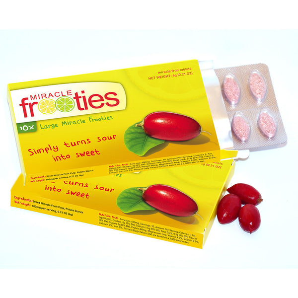 Buy Miracle Berry Tablets and other gifts online - The Fowndry