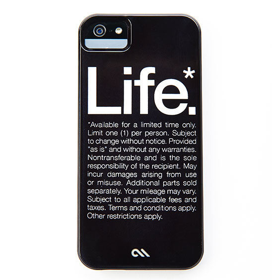 Buy Life* Case for iPhone 5 and other gifts online - The Fowndry