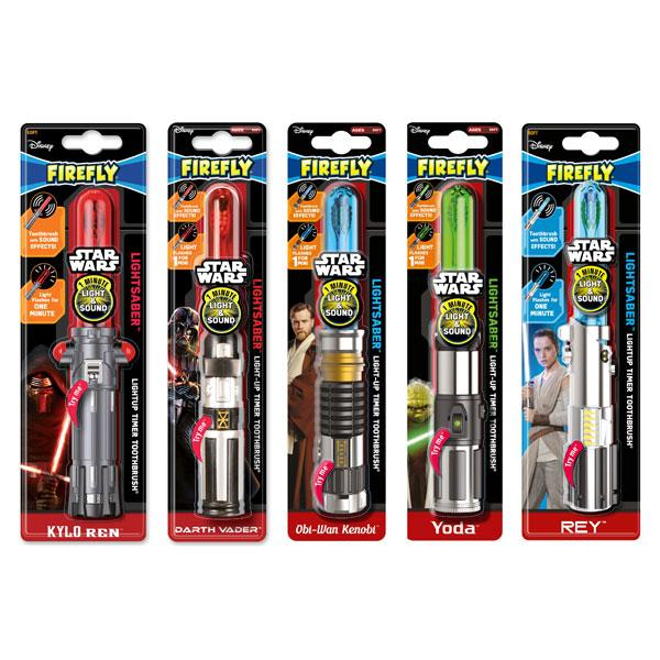 Buy Star Wars® Light And Sound Lightsaber Toothbrush and other gifts online - The Fowndry