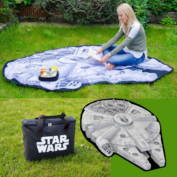 Millennium Falcon Star Wars Picnic Rug - Buy at The Fowndry