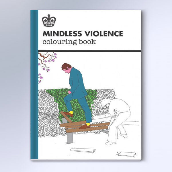 Mindless Violence Colouring Book