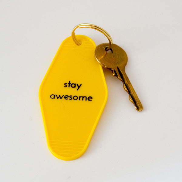 Buy Motivational Motel Keyrings and other gifts online - The Fowndry