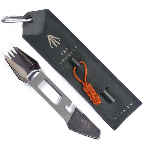 Buy The Muncher Titanium Multi-Tool Utensil and other gifts online - The Fowndry