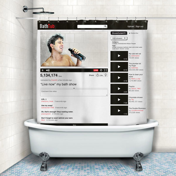 Buy Online Shower Curtain and other gifts online - The Fowndry