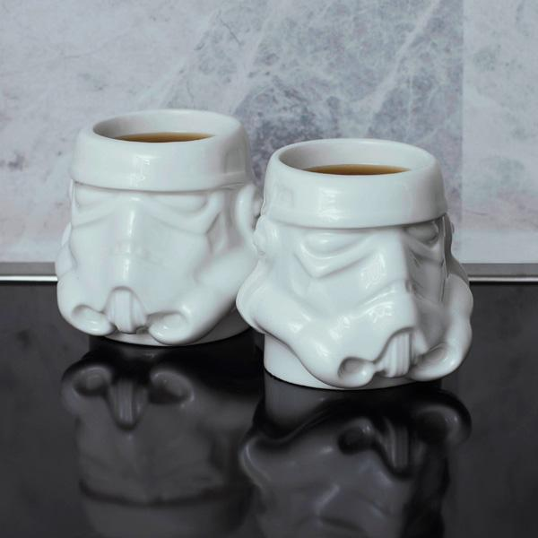 Original Stormtrooper Whiskey and Espresso Shot Mug Set - Buy at The Fowndry