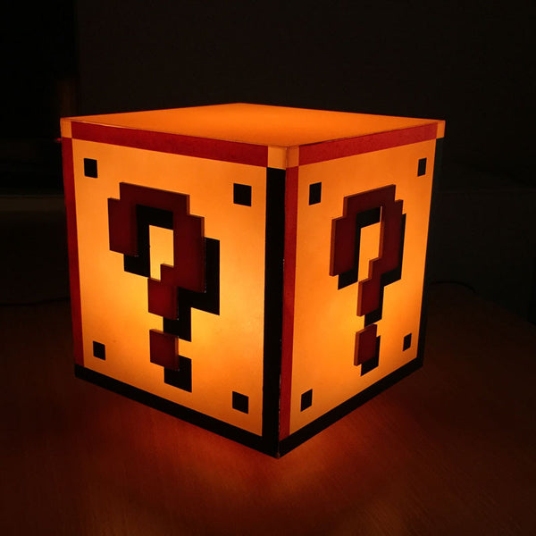 Buy Super Mario Bros. Question Block Light and other gifts online - The Fowndry