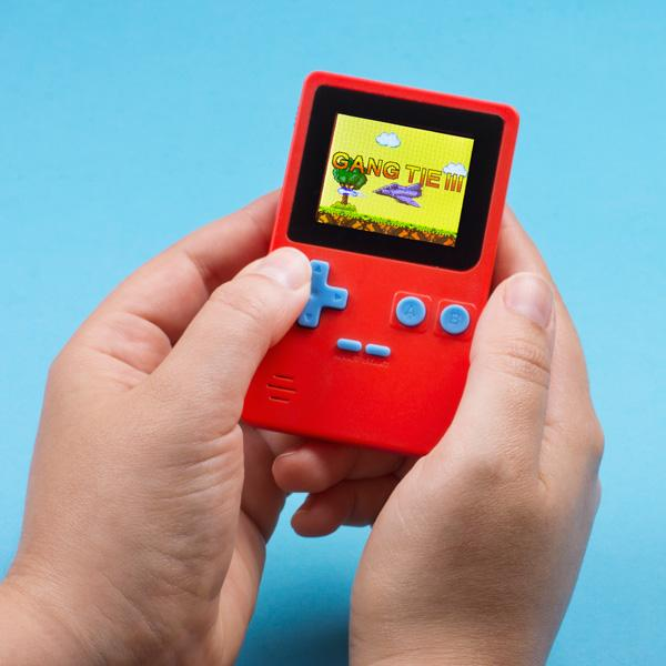 8-Bit Portable LCD Games Console - Buy at The Fowndry