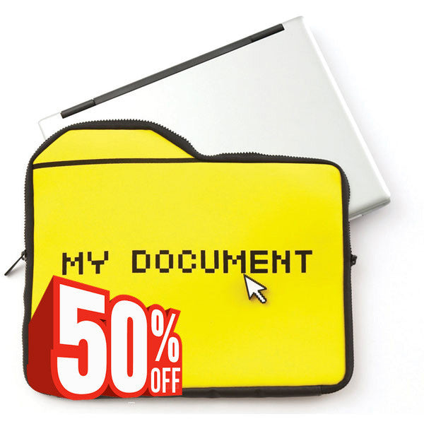 MyDocument Case with laptop