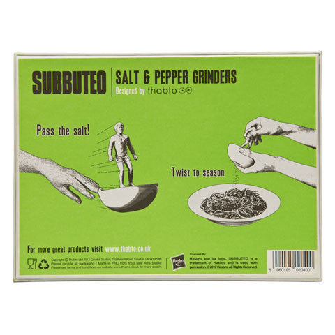 Buy Subbuteo™ Salt & Pepper Grinders and other gifts online - The Fowndry