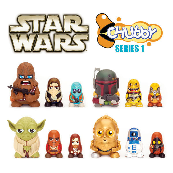 Buy Star Wars Chubby Series 1 and other gifts online - The Fowndry