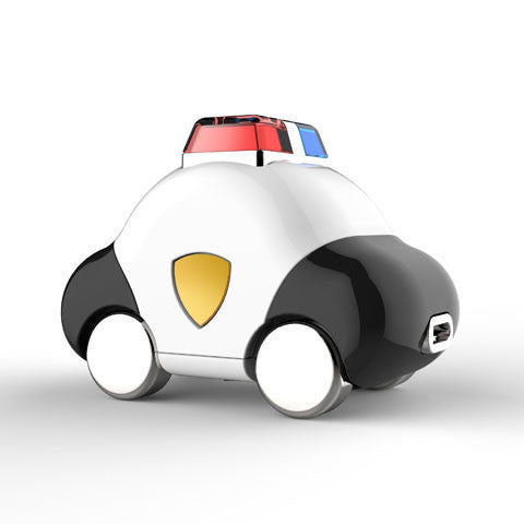 Car USB Flash Drive - Police Car version side view