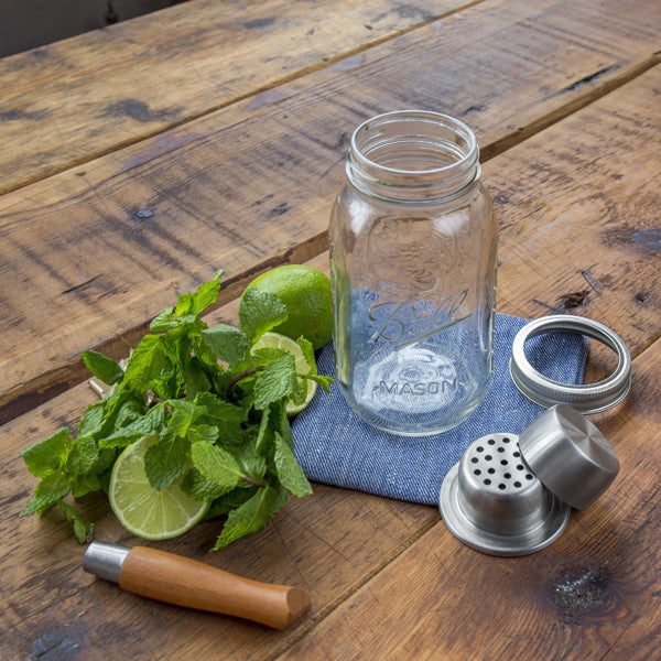 Buy The Mason Jar Cocktail Shaker and other gifts online - The Fowndry