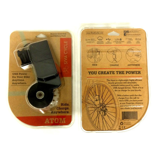 Buy Siva Atom Bike-Mounted Generator and other gifts online - The Fowndry