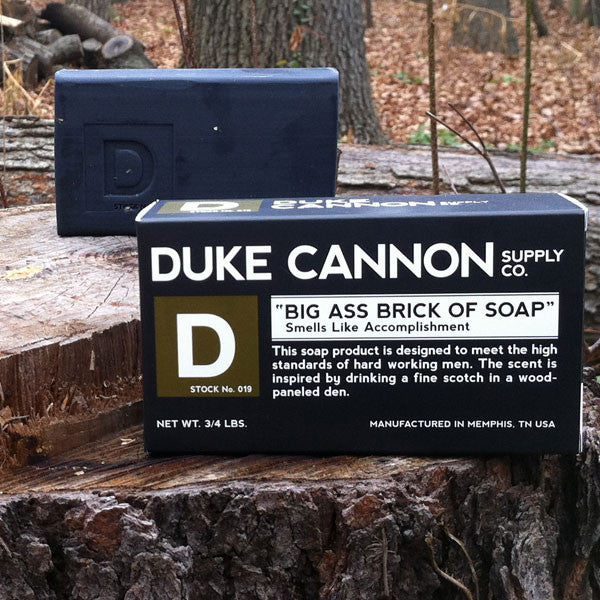 Buy Duke Cannon Big Ass Brick of Soap and other gifts online - The Fowndry