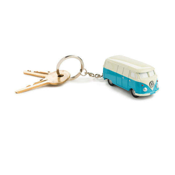 VW Camper Keychain Light with keyring cutout image