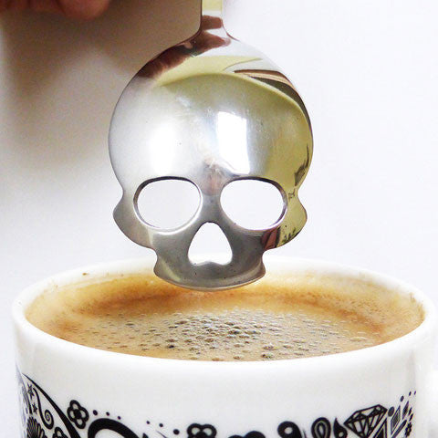Buy Sugar Skull Spoon and other gifts online - The Fowndry