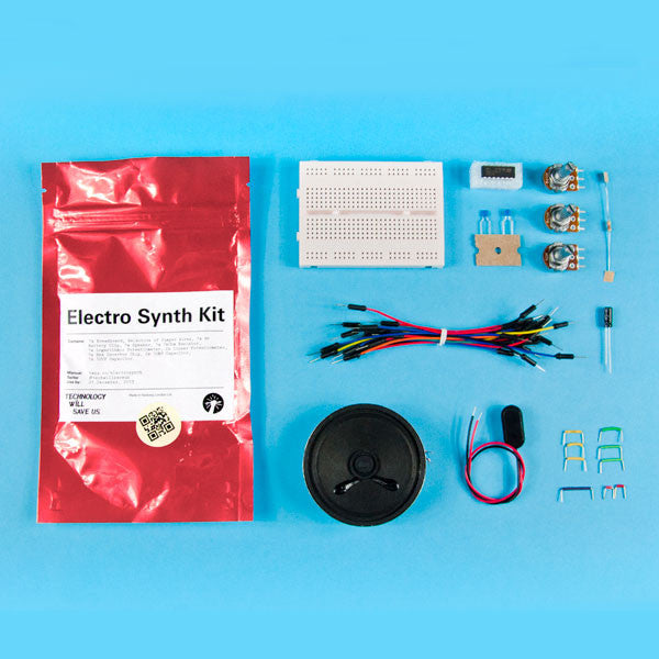 DIY Electro Synth Kit - buy at The Fowndry