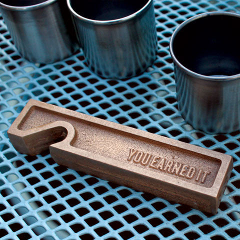 Buy 'You Earned It' Bottle Opener and other gifts online - The Fowndry