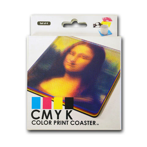 Buy CMYK Coasters and other gifts online - The Fowndry