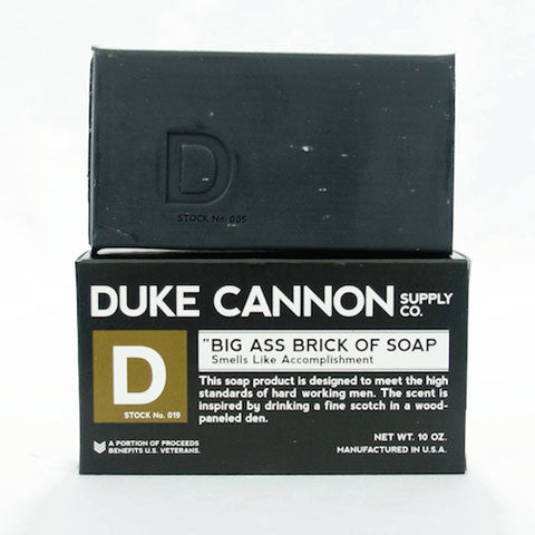Duke Cannon Big Ass Brick of Soap - Accomplishment bar