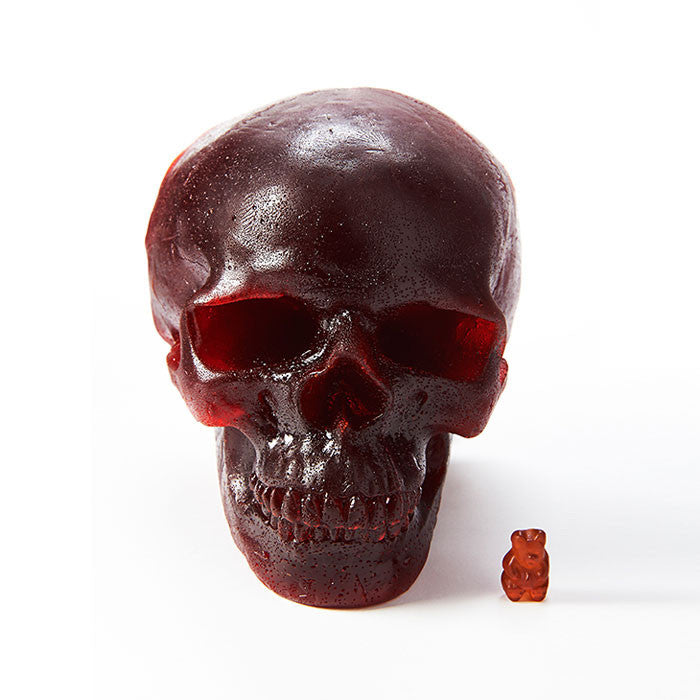 Gummy Skull with Energi Gummy Bear