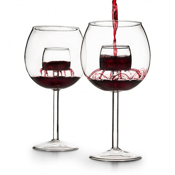 The Legacy Aerating Wine Glass - Only £39.99 | Buy at The Fowndry