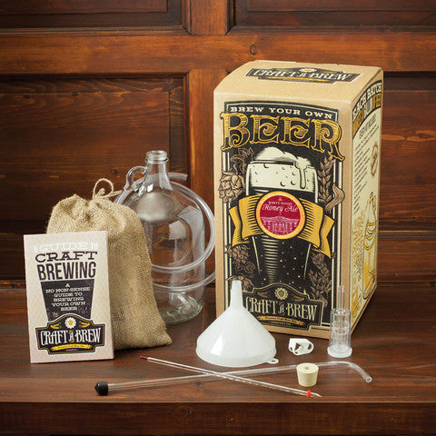 'Craft A Brew' Brewing Kits - Whitehouse Honey Ale packaging & contents