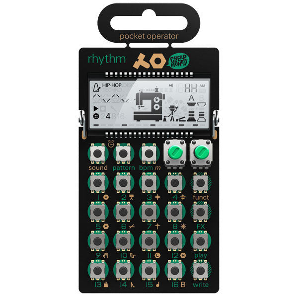 Teenage Engineering Pocket Operator PO12 Drum synth cutout