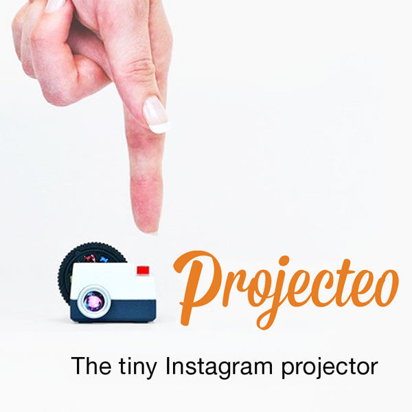 Buy Projecteo: the tiny Instagram projector and other gifts online - The Fowndry