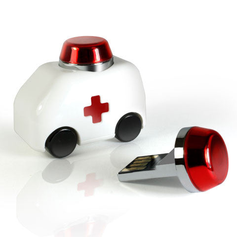 Car USB Flash Drive - Ambulance version