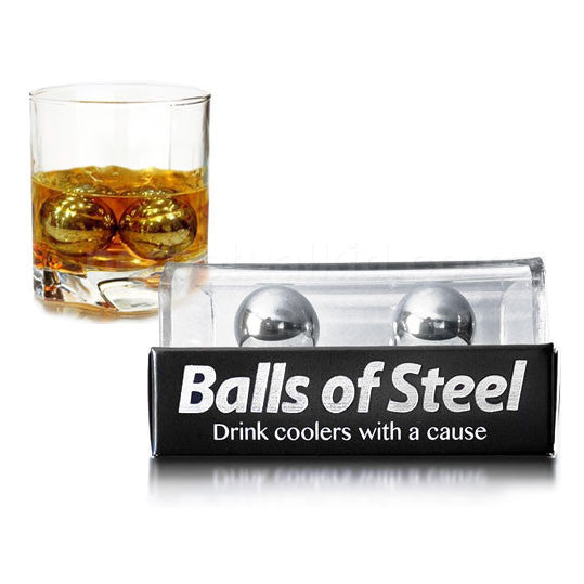 Buy Balls of Steel 2.0 Drink Chillers and other gifts online - The Fowndry