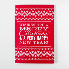Recordable Prank Christmas Card With Glitter