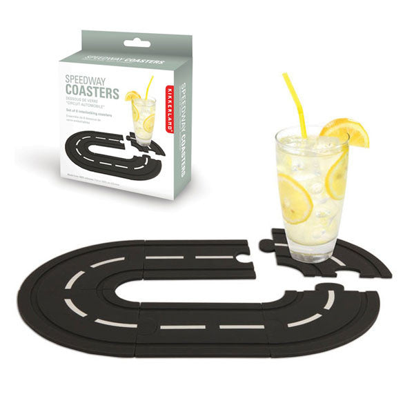 Buy Race Track Coasters and other gifts online - The Fowndry