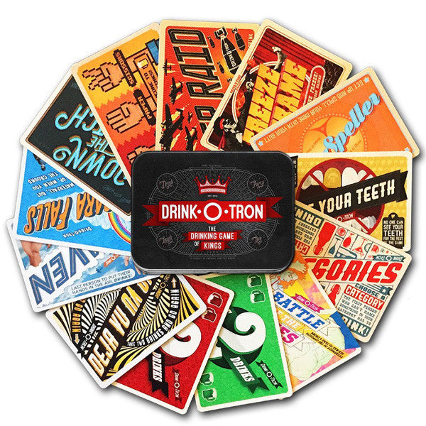 Buy Drink-O-Tron: The Drinking Card Game and other gifts online - The Fowndry