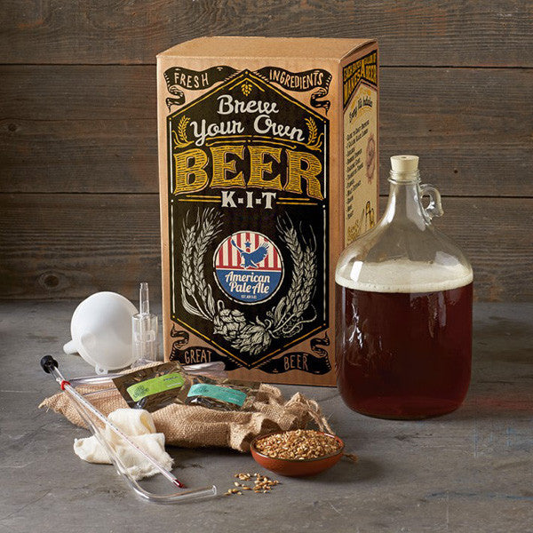 'Craft A Brew' Brewing Kits - American Pale Ale packaging & contents