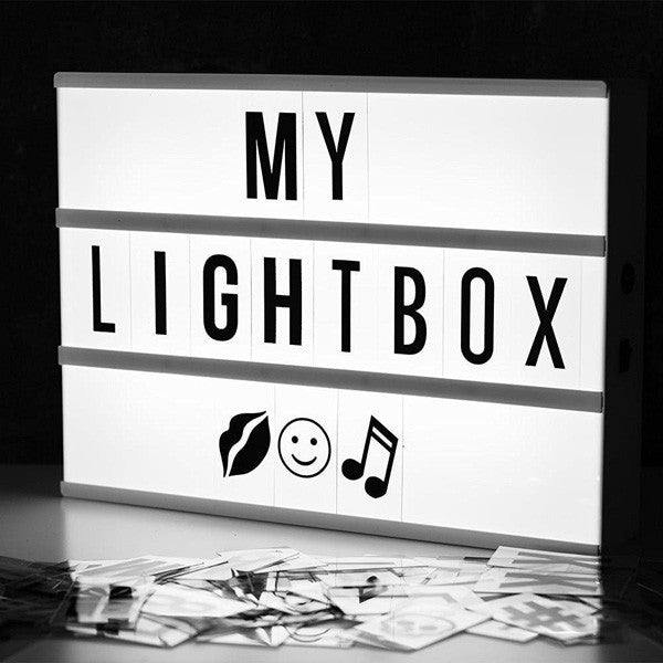 Buy A4 Cinema Lightbox and other gifts online - The Fowndry