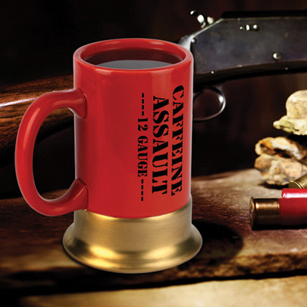 Buy Caffeine Assault Mug and other gifts online - The Fowndry