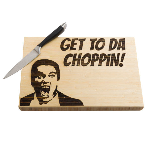 Buy Cutting Boredom Chopping Boards and other gifts online - The Fowndry