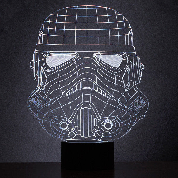 Buy Original Stormtrooper Wireframe Light and other gifts online - The Fowndry