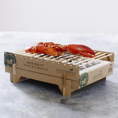 CasusGrill - The Biodegradable Instant BBQ
