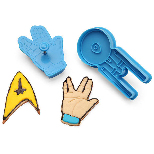 Buy Star Trek Cookie Cutters and other gifts online - The Fowndry