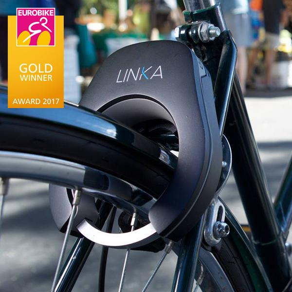 Buy LINKA Smart Bike Lock and other gifts online - The Fowndry