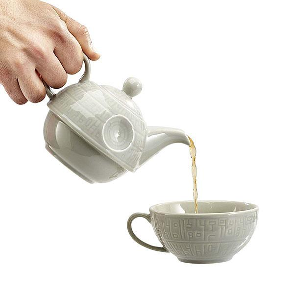 Buy Death Star Teapot & Mug and other gifts online - The Fowndry
