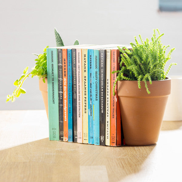 Plant Pot Bookends - Buy at The Fowndry