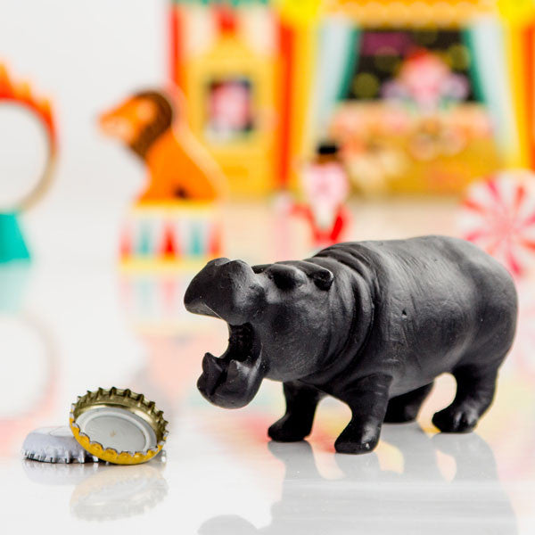 Cast-iron Hippo Bottle Opener - Buy at The Fowndry