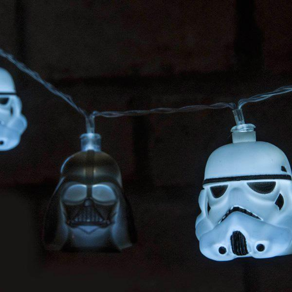 Buy Darth Vader & Stormtrooper 3D String Lights and other gifts online - The Fowndry