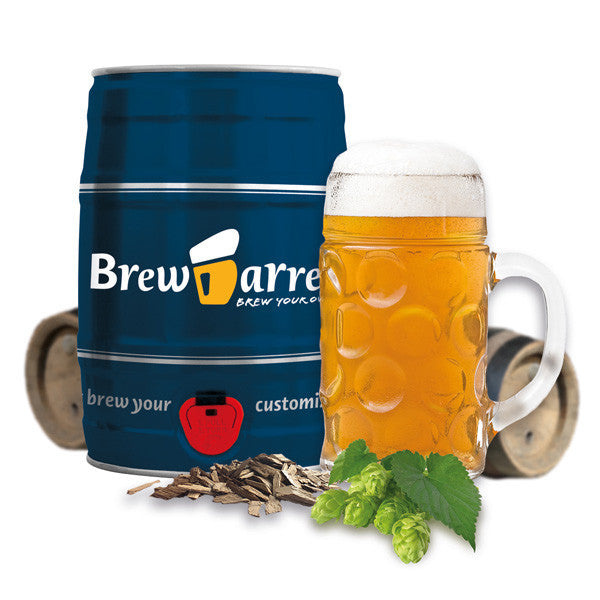 Buy Brewbarrel Homebrew Kit and other gifts online - The Fowndry