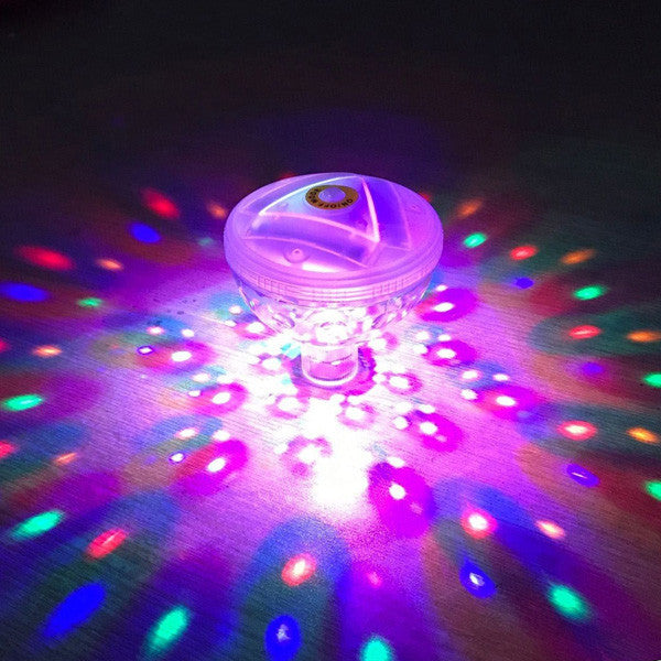 Buy Floating Disco Bath Lights and other gifts online - The Fowndry